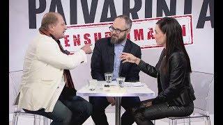 Rajua syyttelyä ja nimittelyä, katso Juhani Tammisen ja Tuomas Enbusken kiivas kohtaaminen