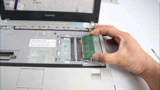 TOSHIBA Satellite U200 노트북 분해(Laptop disassembly)