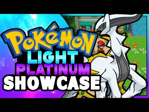 Pokemon ROM HACK SHOWCASE - Pokemon Light Platinum DS ( Heart Gold Rom Hack )