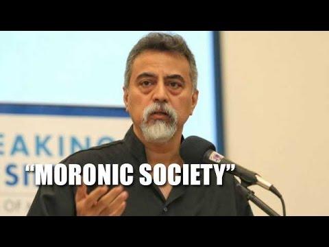 'Malaysian leaders creating moronic society'