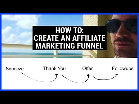 How To Build An Affiliate Marketing Email Funnel - Tutorial