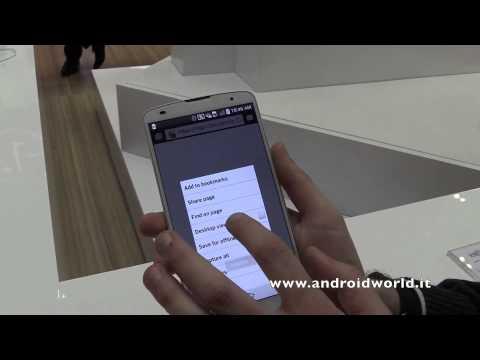 LG G Pro 2. anteprima in italiano da MWC 2014