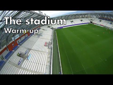 The stadium - Warm up