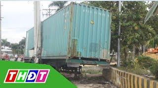 Container gây tai nạn 5 người chết, tài xế khai do buồn ngủ | THDT