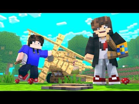 Minecraft: MUNDO L - CONSTRUIMOS UM AVIÃO - ‹ JUAUM › #20