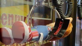 Man vs Claw: So Many Chucky Claw Machine Wins!