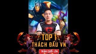 Trận Cuối Cám Xúc - Nakroth Trở Lại Thống Trị Top 1 Thách Đấu Việt Nam| Msuong Channel
