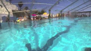 【 GoPro HERO3 】 Piscina Club Natación Caballa / Swiming Pool 60fps to 30fps
