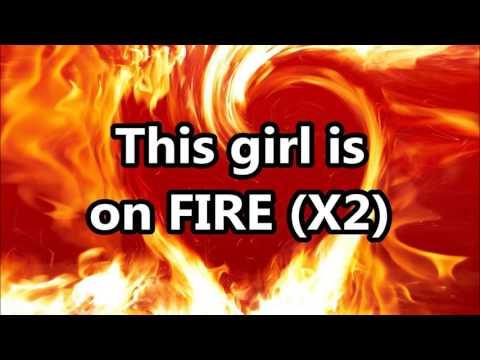 Girl on fire lyrics By Alicia Keys #1