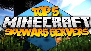 TOP 5 MINECRAFT SKYWARS SERVERS! (Best Skywars Servers)