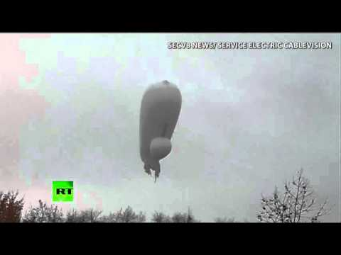 Pentagon Surveillance Blimp Crashes