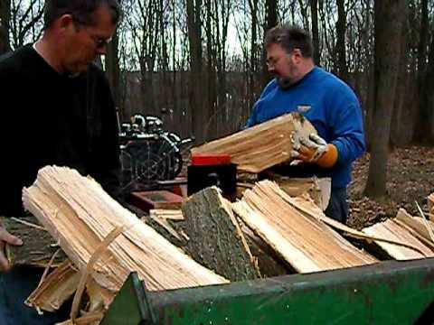 home made logsplitter