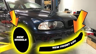 BEST EXTERIOR UPGRADES FOR E46 M3- NEW WHEELS + CARBON FIBER UPGRADE!!!!!