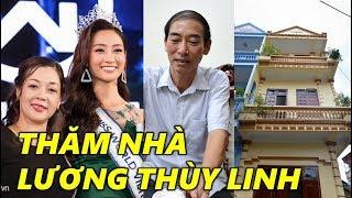 Thăm nhà Hoa hậu Lương Thùy Linh ở Cao Bằng - TIN GIẢI TRÍ