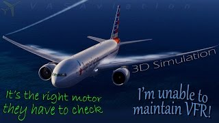 [REAL ATC] American B772 ENGINE ISSUE + Cessna pilot gets lost!