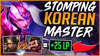HOW TO OUT JUNGLE KOREAN MASTER GRAVES | NIDALEE CARRY - League of Legends