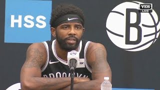 Kyrie Irving Reveals Why He Joined Nets & Leaving Celtics! 2019 Nets Media Day Press Conference