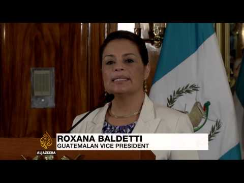 Thousands of Guatemalans protest corruption and presidency