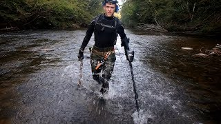 River Hunting - There's Knives Everywhere Out Here!