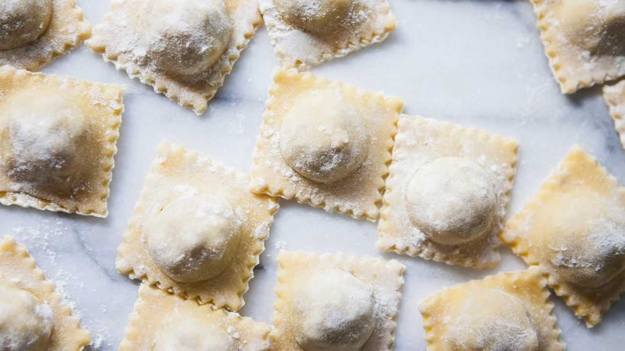 How To Make Homemade Ravioli Pasta YouTube