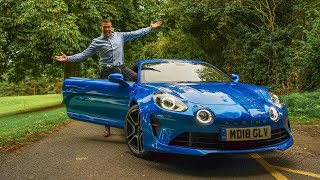 Is the Alpine A110 better than a Porsche Cayman 718?