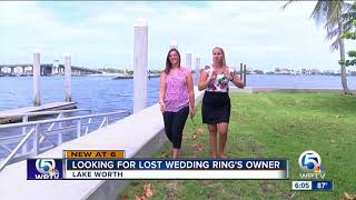 Man's wedding ring found at Bryant Park in Lake Worth