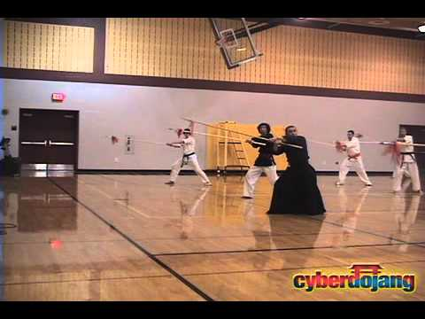 Spear Fighting (Jang Chang) w/ Grandmaster Taejoon Lee - CyberDojang.com Image 1