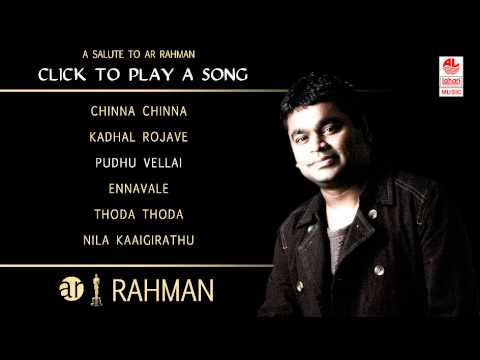 A R Rahman Tamil Hit Songs Jukebox - 1