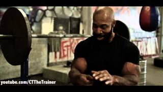 CT Fletcher- Penitentiary Style Weightlifting Roots