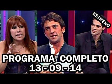 MAGALY MEDINA 13-09-14 ENTREVISTA A GUTY CARRERA Y ANTONIO PAVON [PROGRAMA COMPLETO]