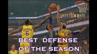 The Lakers' Best Defense of the Season | Lakers Analysis