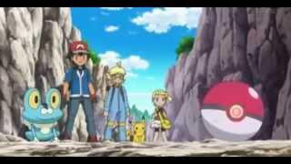 Ash catches Fletching