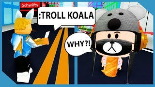 Trolling My Little Nephew With Admin Commands in Roblox Mad City