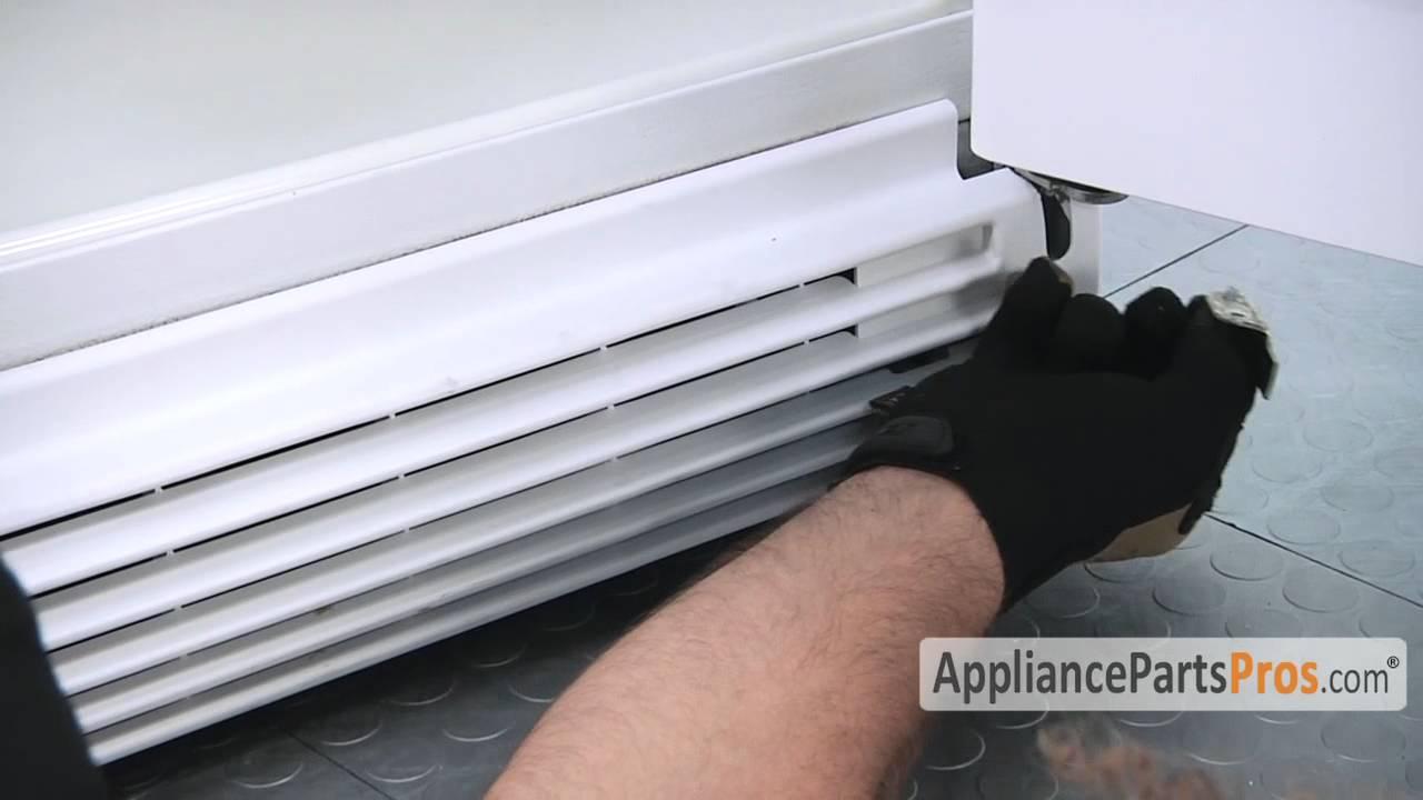 Refrigerator Door Stop Bracket How To Replace Youtube
