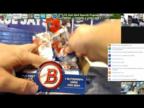 2015 Bowman Baseball Asia Edition 2 Box Break Mike J