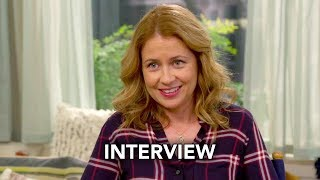 "Splitting Up Together (ABC) ""Jenna Fischer"" Interview HD"