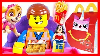 Lego Movie Happy Meal from McDonalds and Valentines Day with Paw Patrol Skye