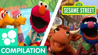 Sesame Street Elmo 39 S Ducks Old Macdonald And More Clips About Animals Animals Compilation