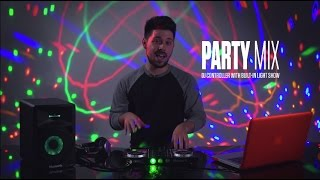 Numark Party Mix DJ Controller with Built-in Lightshow Overview