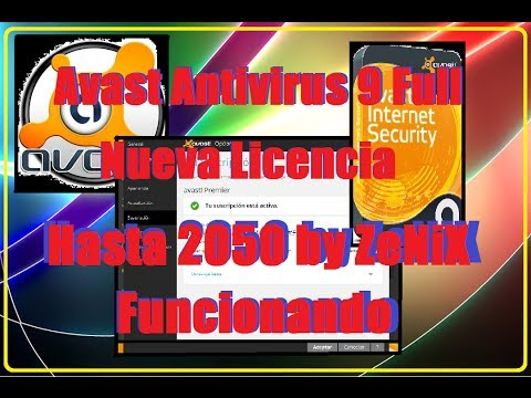 Avast Pro, Internet Security y Premier 9 Full (Nuevo Crack Hasta 2050 by ZeNiX)