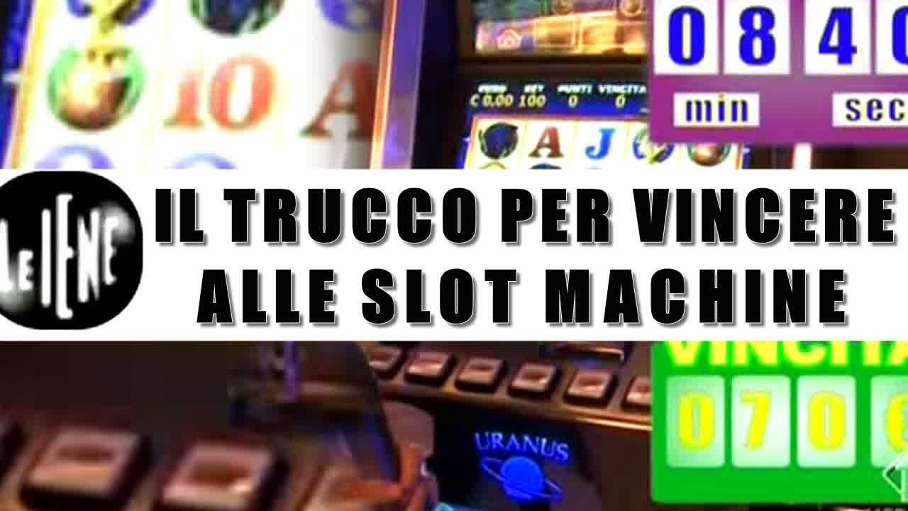 Multa alle slot machine