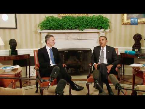 President Obama Meets with Prime Minister Jens Stoltenberg of Norway