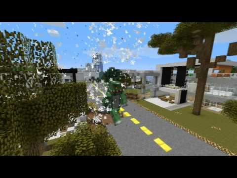 The Godzilla Griefer - Minecraft Machinima