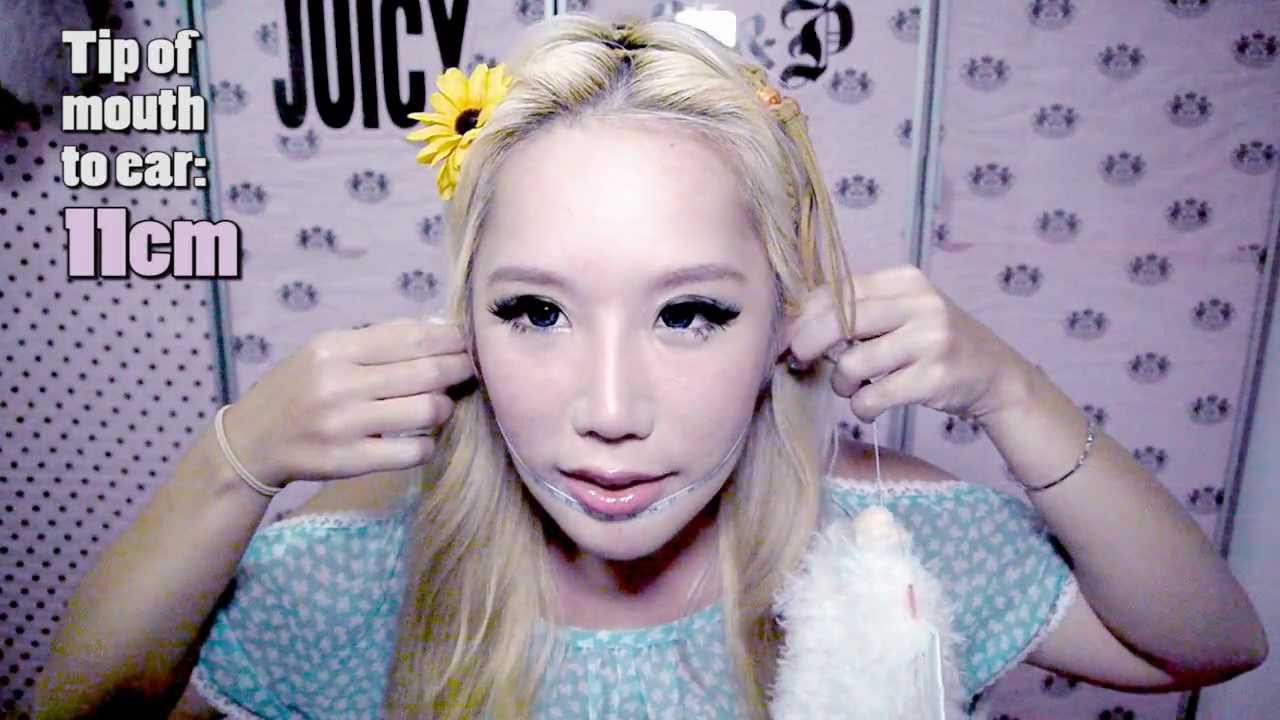 Xiaxue Before Surgery How to get a slimmer