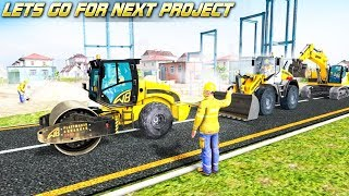 Road Construction Games: Excavator, Dump Truck Driving - Android GamePlay 3D