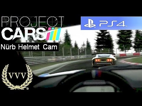 Project Cars Nürburgring Helmet Cam