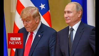 Trump-Putin press conference - BBC News