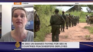 Human Rights Watch: 'not surprised' by United Nations peacekeeper allegations  with children