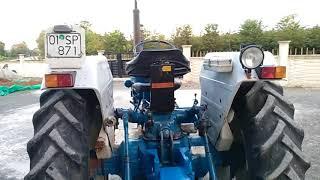 Ford 6600 İngiliz 77 model tractor