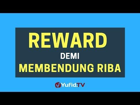 Reward Demi Membendung Riba